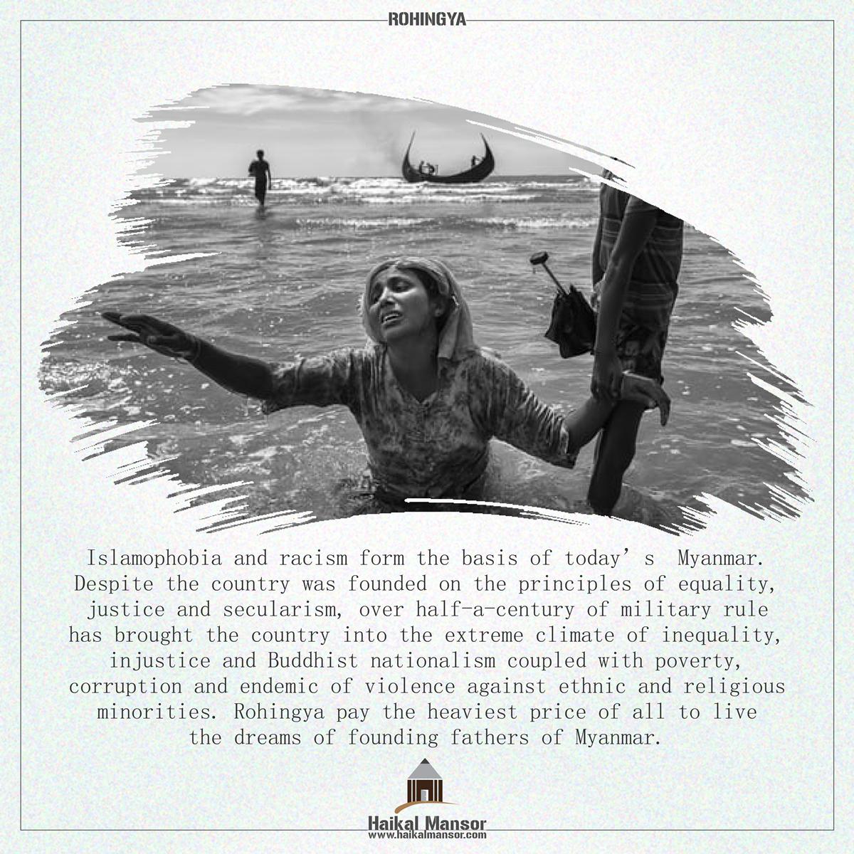 Islamophobia and Racism - Rohingya-01